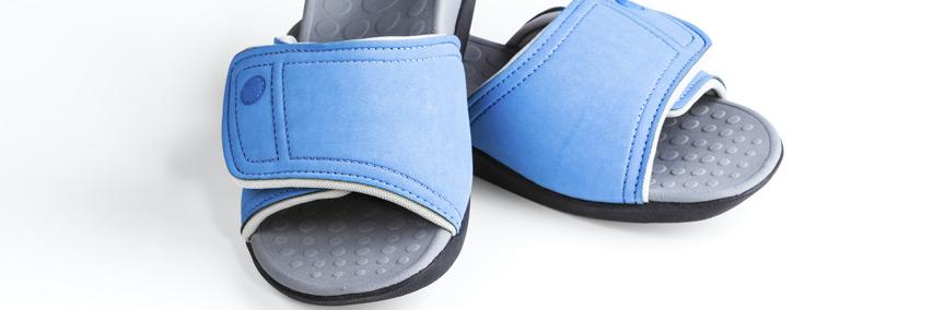 רשת נעלי הלב הכחול