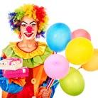 ליצן או ליצנית ליום הולדת - חגיגה נחמדת