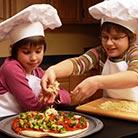 הכנת פיצה ביתית