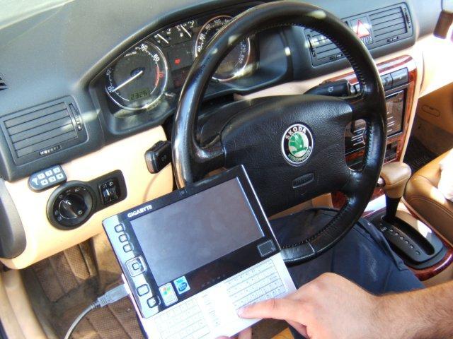 איתור תקלות רכב באמצעות מחשב