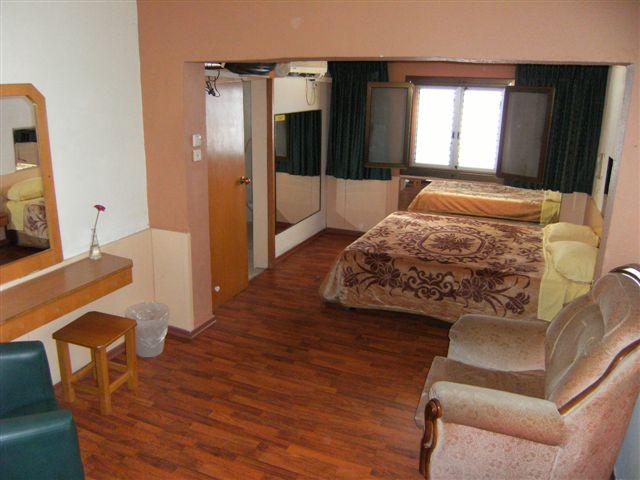 חדר לדוגמה במלון הולצמן