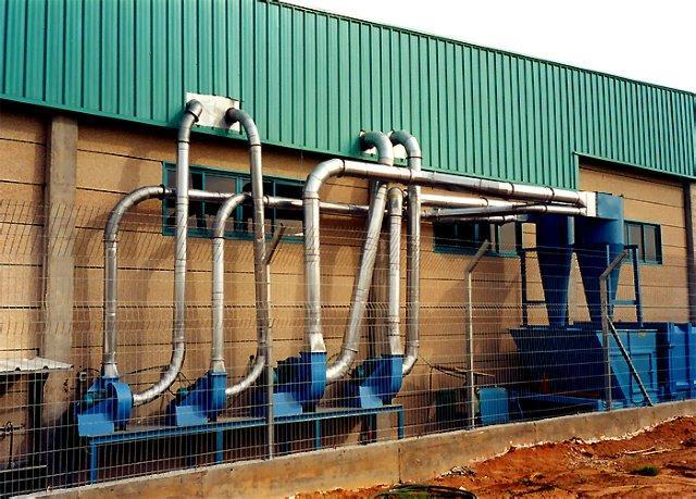 ייצור מערכות אוורור תעשייתיות