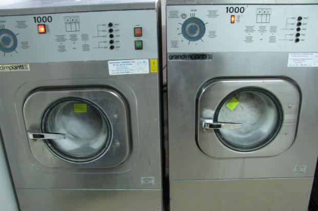 אספקת מכונות כביסה תעשיתיות