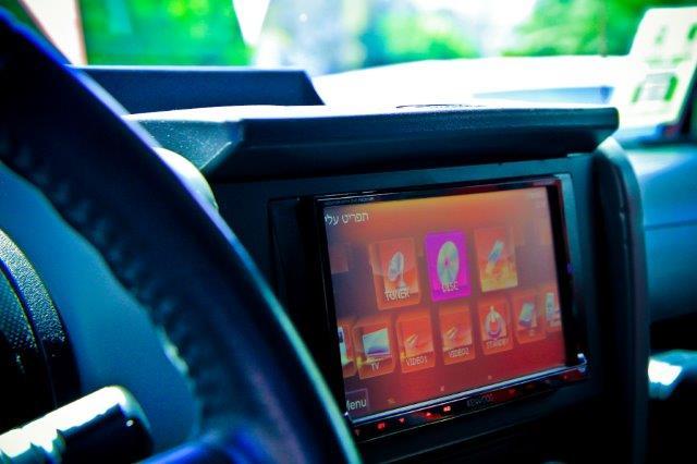 מערכות מולטימדיה לרכב