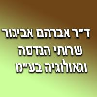 """ד""""ר אברהם אביגור-שרותי הנדסה וגאולוגיה בע""""מ"""