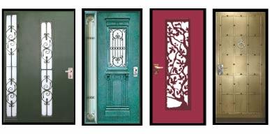 ייצור דלתות במגוון צבעים