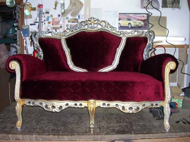ביצוע ריפוד רהיטים