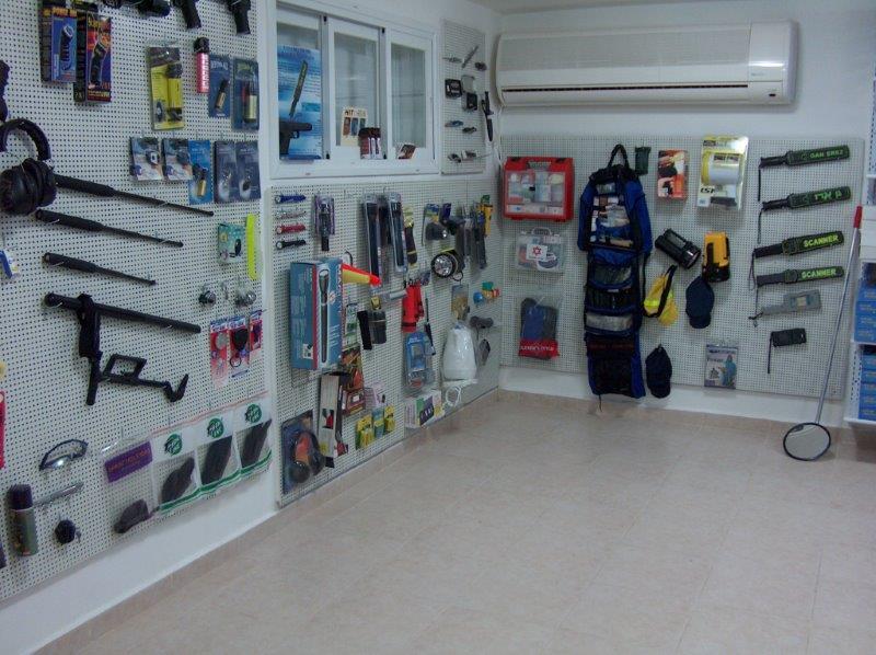 חנות למכירת ציוד לגילוי מתכות בתל אביב