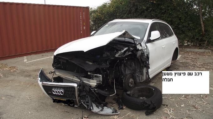 שירות הערכת נזקים לרכבים