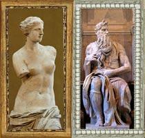 גלריית תמונות של ג'י אר מסגרות ותמונות