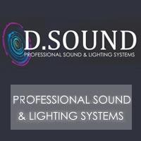 די סאונד - הגברה ותאורה - תמונת לוגו