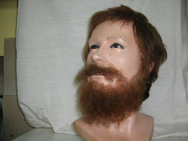 פאות ושיער פנים לגברים