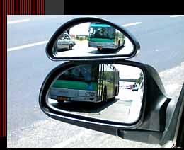 מראת צד לבטיחות מירבית ברכב