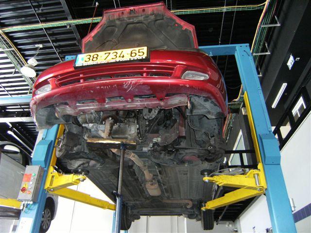 טיפול ותיקון כלי רכב