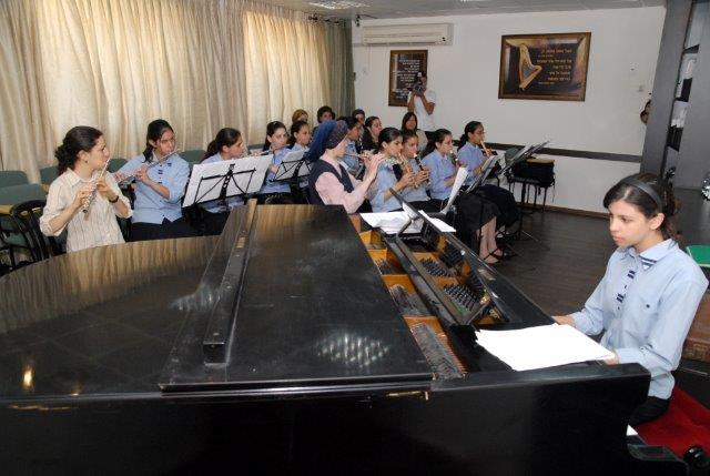מגמת מוזיקה בבית ספר תיכון