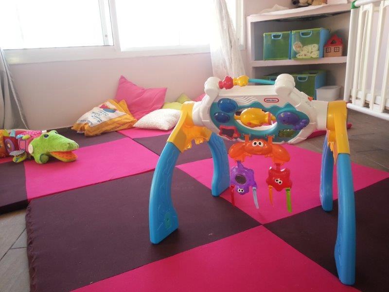 גן עם סביבה מותאמת לתינוקות