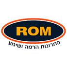 """רום צפון השכרה ומכירה בע""""מ"""