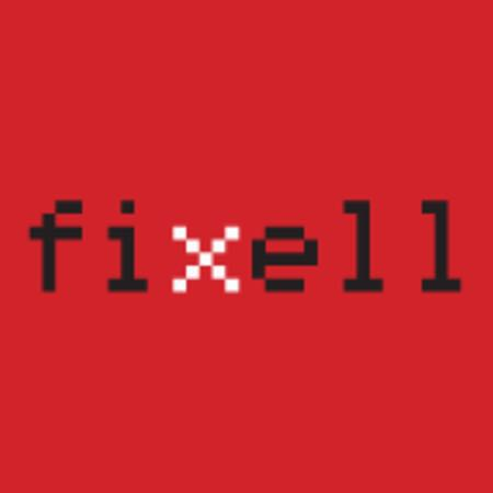 פיקסל-fixell - תמונת לוגו