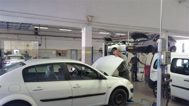 מוסך לתיקון רכבי רנו וניסאן