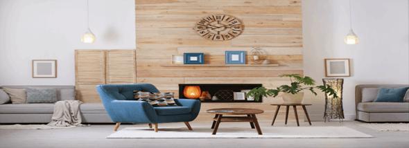 חזרה לטבע: רהיטים מעץ - תמונת המחשה