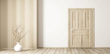 דלתות פנים - פשוטות או מעוצבות, ולמה הן כל כך חשובות - תמונת המחשה