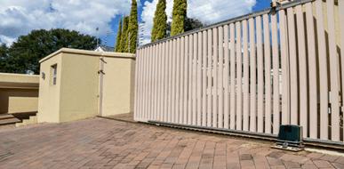 שערים נגררים: ידניים, מכאניים או אלקטרוניים - תמונת המחשה