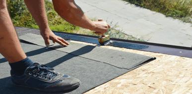בדד אלך: בידוד גגות רעפים - תמונת המחשה