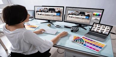 גרפיקה ממוחשבת ועיצוב גרפי - תמונת המחשה