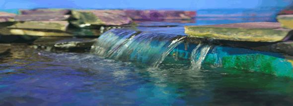 מפלי מים - תמונת המחשה