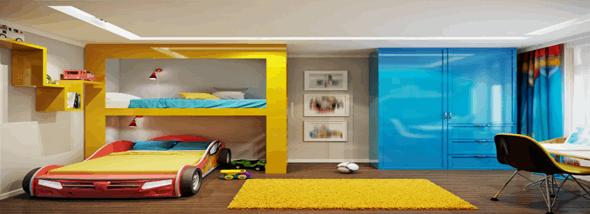 יש לי חדר משלי: המדריך לריהוט חדרי ילדים - תמונת המחשה