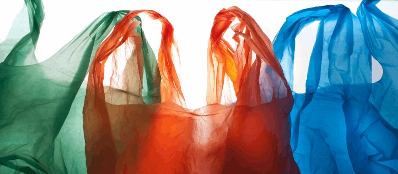 כתבות בנושא שקיות פלסטיק - תמונת אווירה