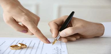 סעיפים עיקריים בהסכם ממון - סוף מעשה במחשבה תחילה - תמונת המחשה