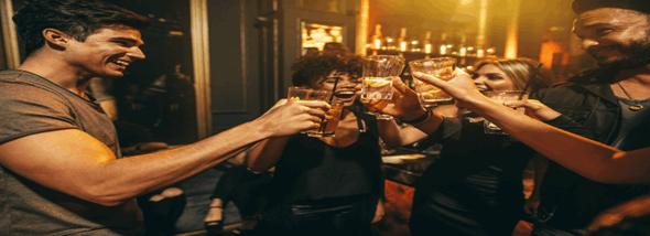 בר אקטיבי לאירועים - אלכוהול ישמח לבב אנוש  - תמונת המחשה