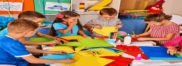 ציוד לגני ילדים - משחקי חצר או גן, למשחק בטוח ומוגן - תמונת המחשה