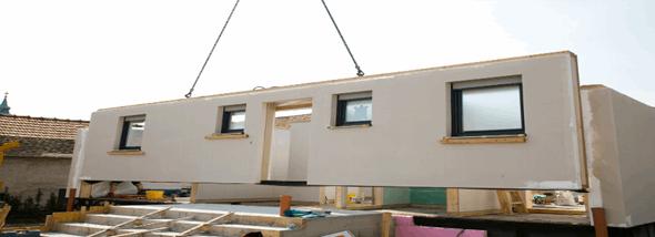 בנייה טרומית - הדרך המהירה והזולה לבית   - תמונת המחשה