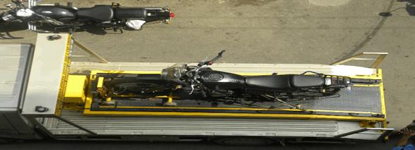 תקלות נפוצות באופנועים - מתי חייבים גרר אופנועים? - תמונת המחשה