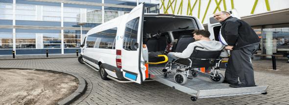 חלופות תחבורה ציבורית לנכים - הסעות נכים ושכירת רכב לנכים - תמונת המחשה