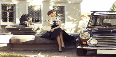 ביגוד רומנטי - המדריך לחנויות בגדים וינטג' - תמונת המחשה