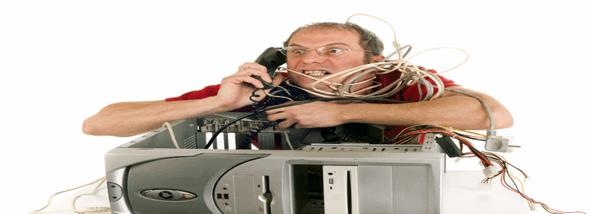 תקלות נפוצות במחשב- לפתור בעצמך או בעזרת שירותי תמיכה? - תמונת המחשה
