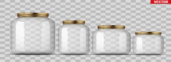 צנצנות ובקבוקי זכוכית- ייצור ושימושים - תמונת המחשה