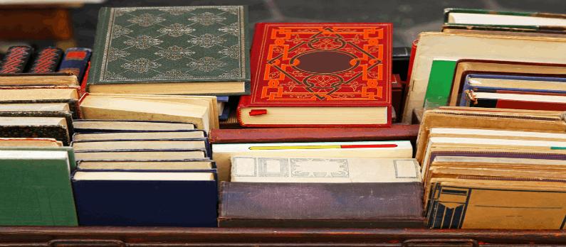 כתבות בנושא ספרים משומשים - תמונת אווירה