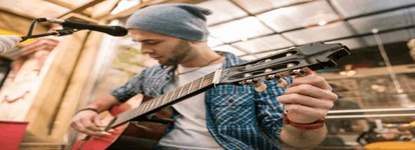 צליל מכוון - מדריך לכיוון גיטרה קלאסית, אקוסטית וחשמלית - תמונת המחשה