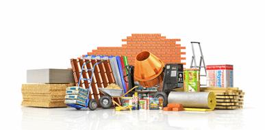 בניין של קלפים ? מדריך לקניית חומרי בניין  - תמונת המחשה