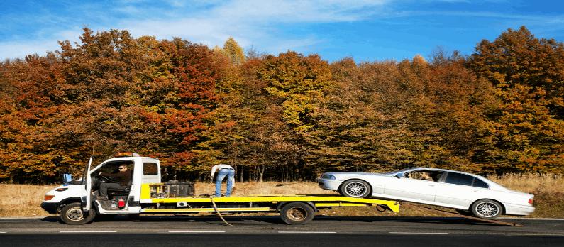 כתבות בנושא גרירת רכב - תמונת אווירה
