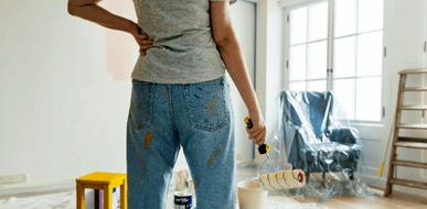 צביעת דירה: להכניס צבע לחיים - תמונת המחשה