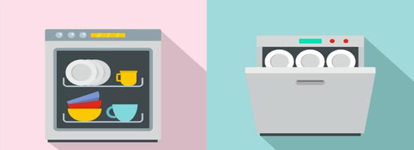 מדיחי כלים: במקום שאתם תצאו מהכלים - תמונת המחשה