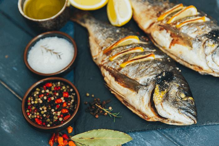 מידת צלייה דגים: תמונה להמחשה