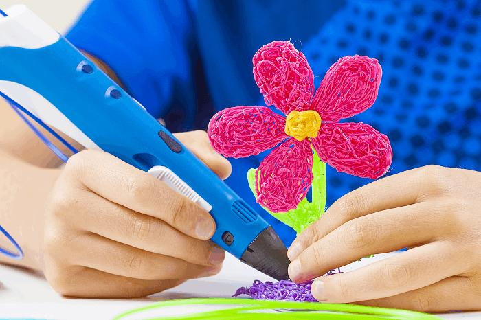 פעילות יצירה עם ילדים בבית : תמונה להמחשה