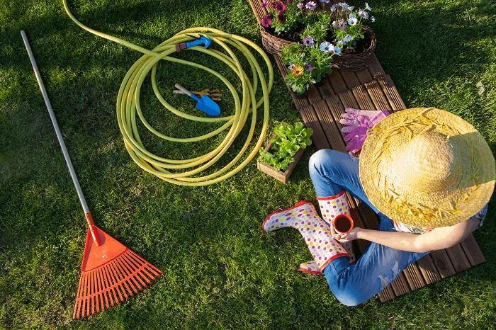 טיפים לעיצוב הגינה : תמונה שאטרסטוק