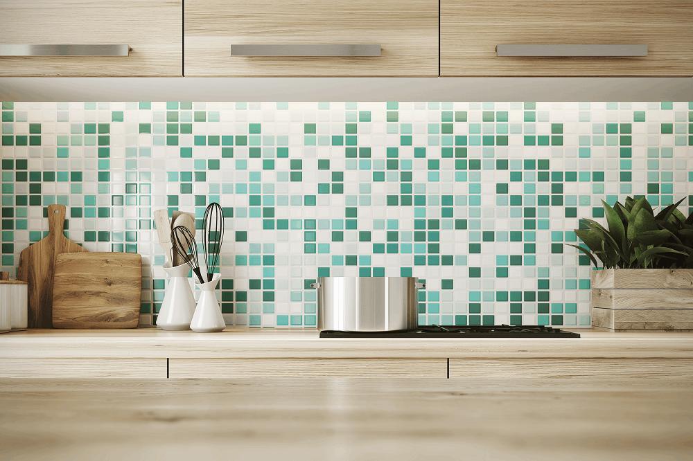 קרמיקה לקירות מטבח: תמונה שאטרסטוק